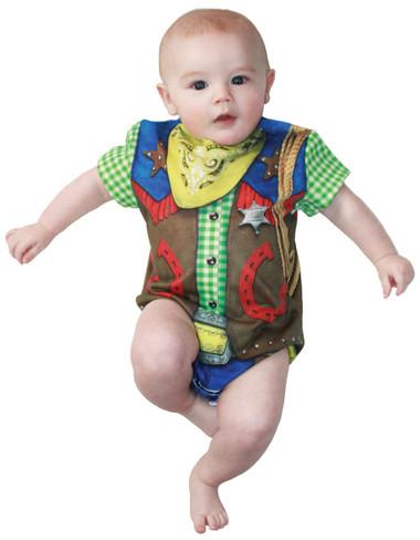 Infant Cowboy Romper