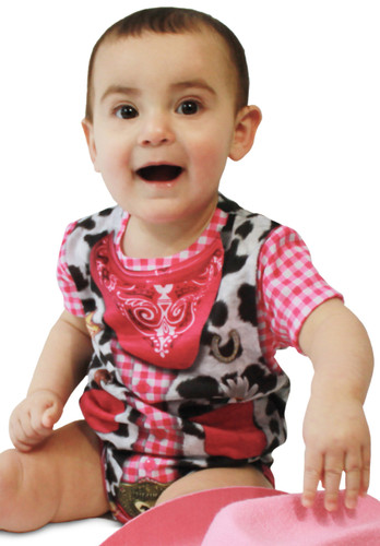Infant Cowgirl Romper