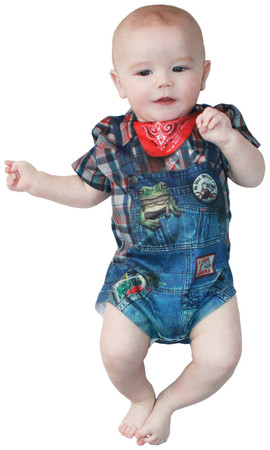 Infant Hillbilly Romper