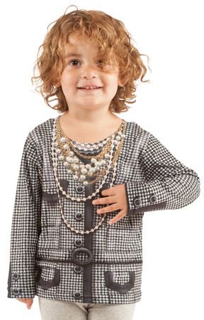 Toddler Houndstooth Jacket