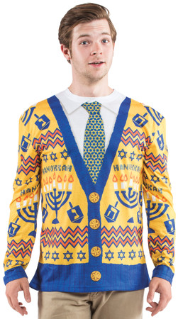 Ugly Hanukkah Sweater Long Sleeve