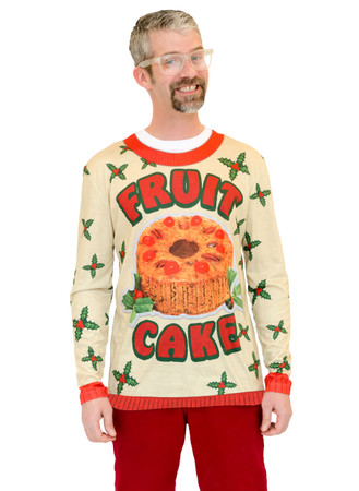 Fruit Cake Xmas Sweater