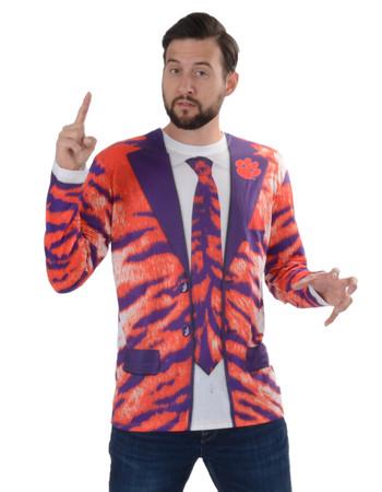 Clemson Tiger Skin Suit Tee
