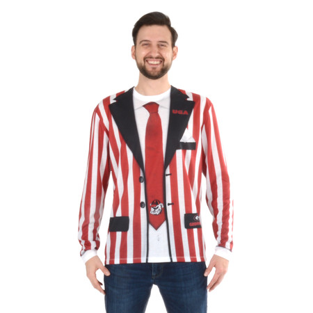 GA Bulldogs Stripe Suit
