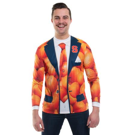 Syracuse Orange Texture Suit