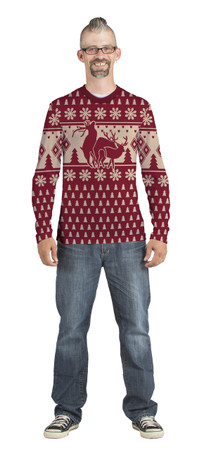 Humping Deer Sweater