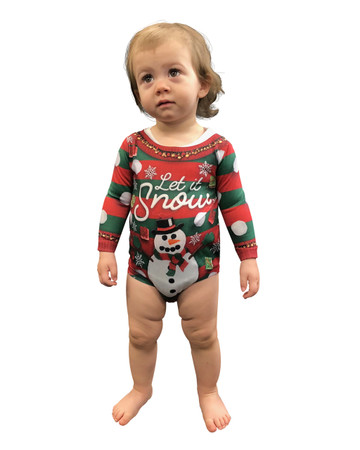 Ugly Xmas Family Infant Snow