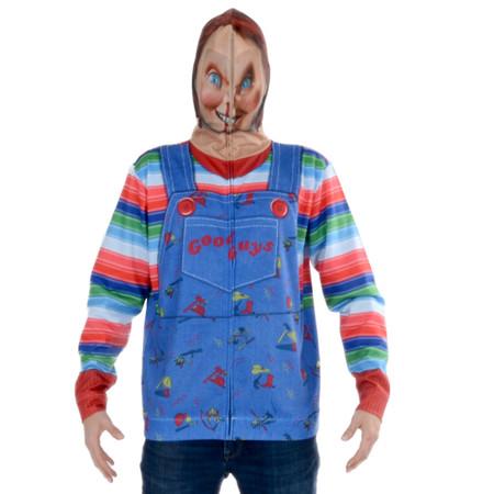 Chucky Zip Mask Hoodie