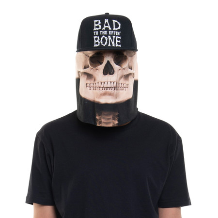 Skeleton Hat Mask