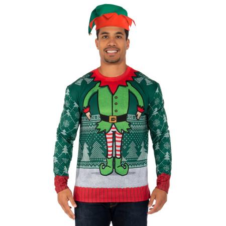 Elf Head Sweater Tee