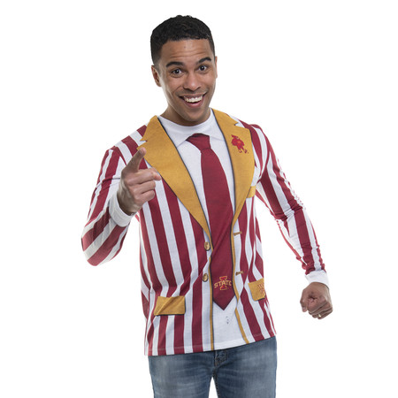 Iowa State Striped Suit