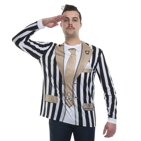 Army Knights Striped Suit