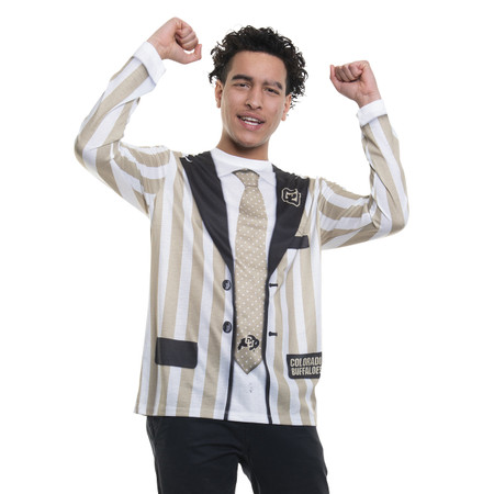 Colorado Buffaloes Striped Suit
