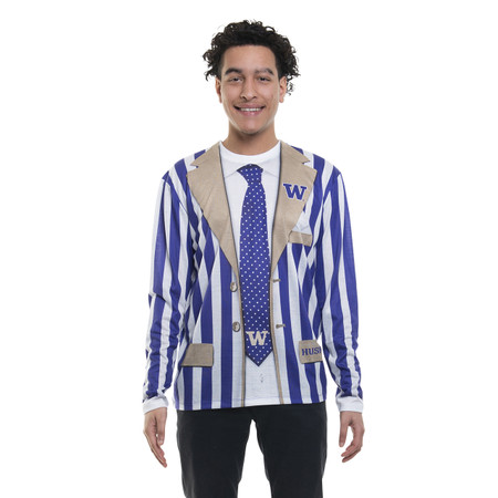 Washington Huskies Striped Suit