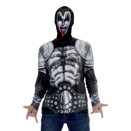 Kiss - The Demon Mask/Tee Combo