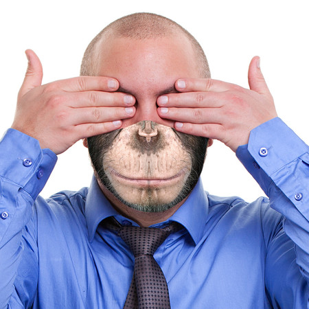 Monkey Business Face Mask