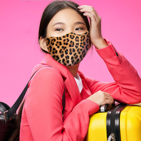 Leopard Spots Face Mask