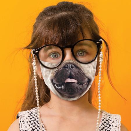 Youth Pug Life Face Mask