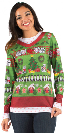 Ladies Ugly Christmas Sweater T-Shirt