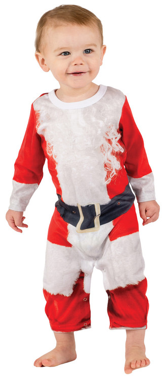Faux Real Infant Santa Suit - Front View
