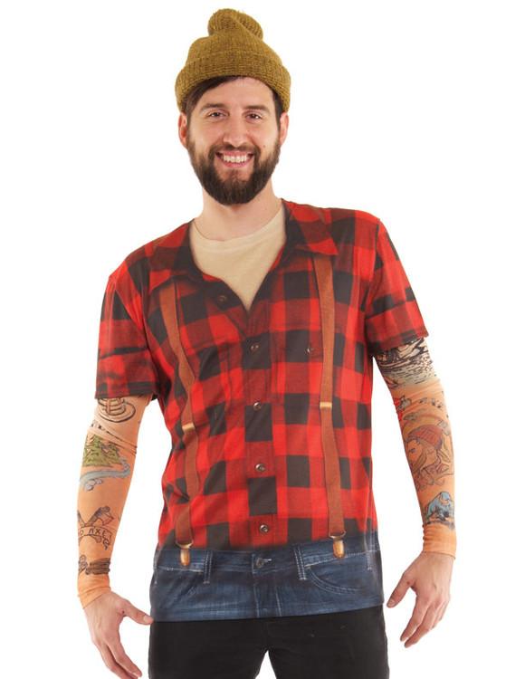 Lumbersexual w/ Tattoo