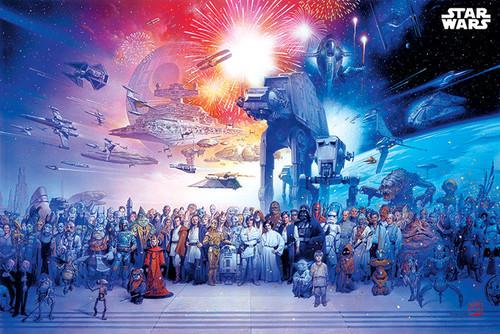 Star Wars Galaxy Poster.