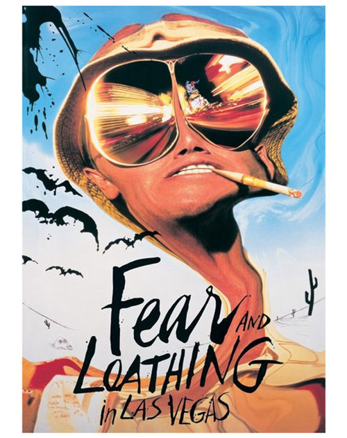 Fear and Loathing in Las Vegas Movie Poster.