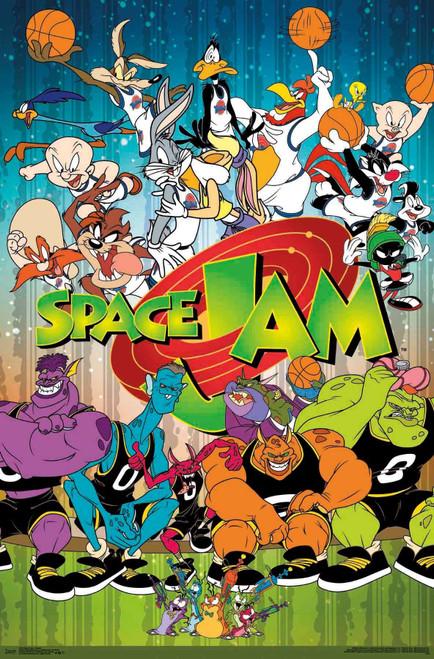 Space Jam Movie Poster.