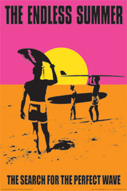 The Endless Summer Movie Poster.