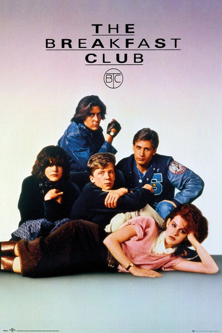 The Breakfast Club Movie Poster.