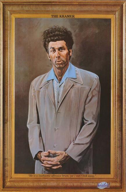 Seinfeld Kramer Poster.