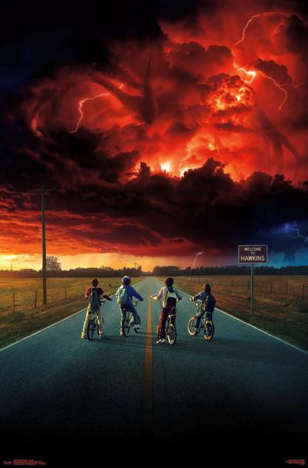 Stranger Things Bike Squad Poster.