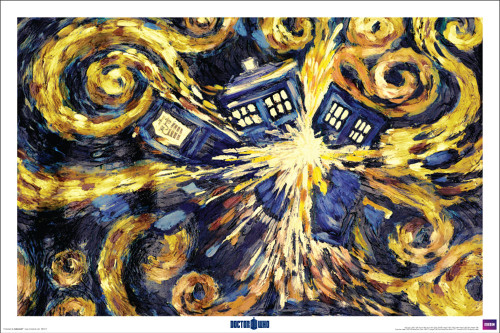 Doctor Who Van Gogh Poster.