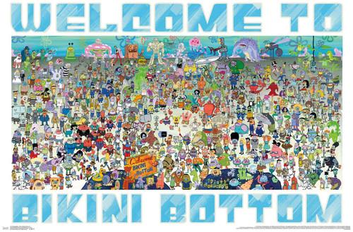 Spongebob Squarepants Poster.