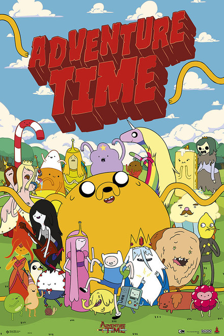 Adventure Time Poster.