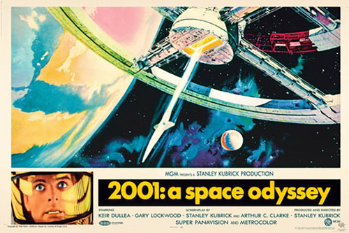 2001: A Space Odyssey Comic Poster