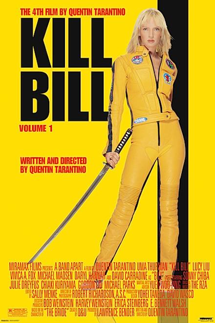 Kill Bill Vol. 1 Movie Poster.