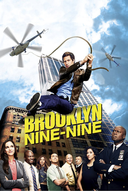 Brooklyn Nine-Nine Poster.