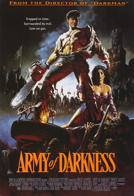 Army of Darkness Movie Poster.