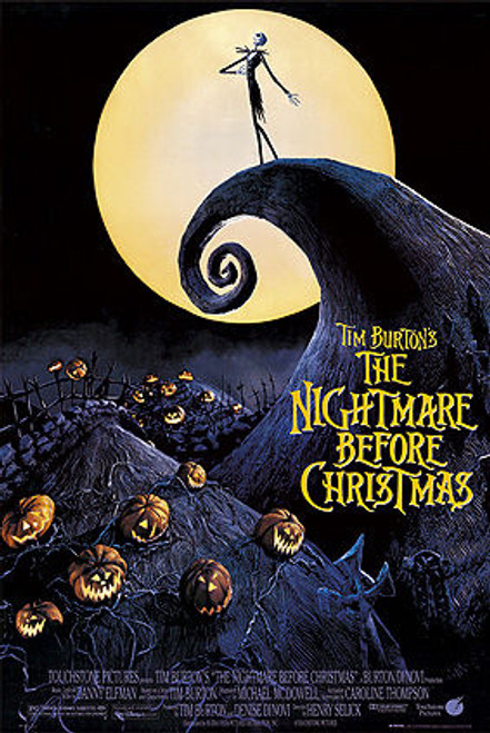 The Nightmare Before Christmas Poster.