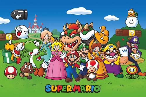 Super Mario Poster.
