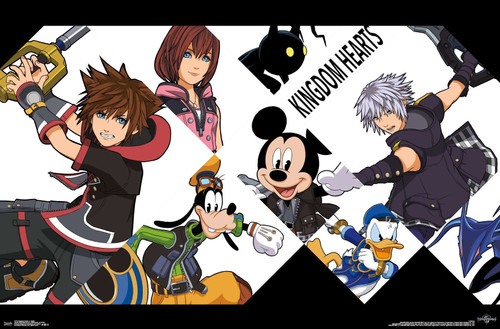 Kingdom Hearts III Poster.