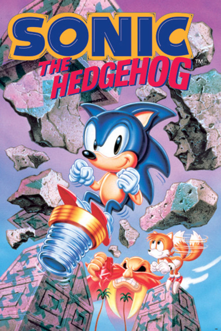 Sonic the Hedgehog Poster.