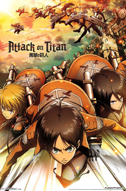 Attack on Titan Poster.