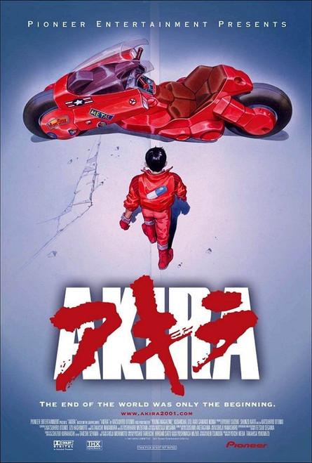 Akira Movie Poster.