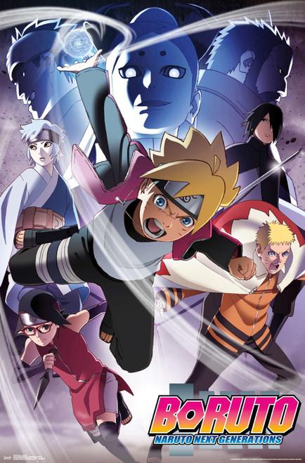 Boruto: Naruto Next Generations Poster.