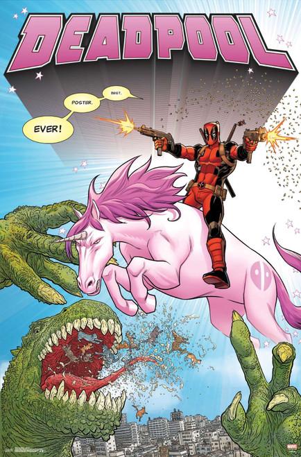Deadpool Unicorn Poster.