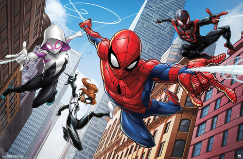 Spider-Man Animated Poster.
