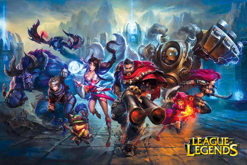 League of Legends Poster.