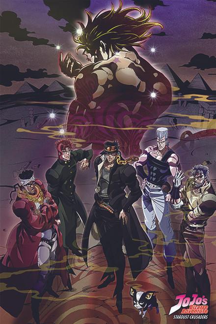 JoJo's Bizarre Adventure Poster.